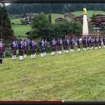 Ehrenkompanie Kufsteiner Bataillonsfest 60-Jahr-Feier in Alpbach 15.07.12